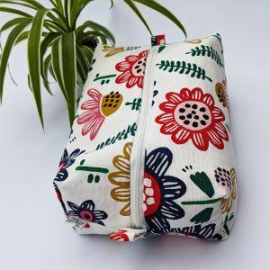 wash bag - floral