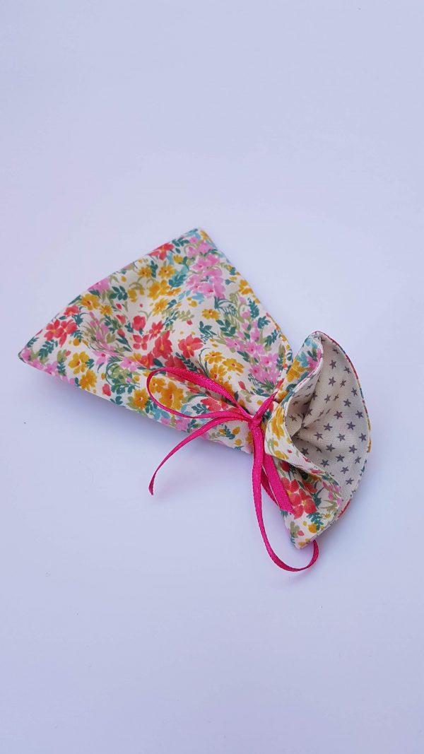 gift bag - floral stars large