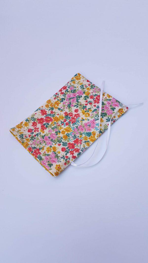 gift bag - floral dotty large