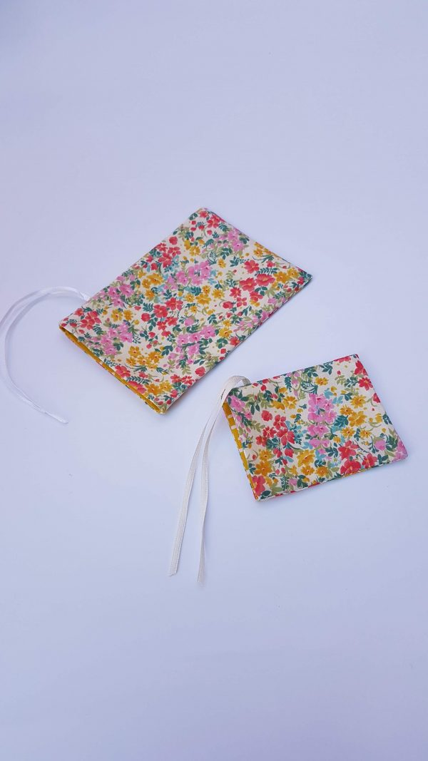 gift bags - floral dotty