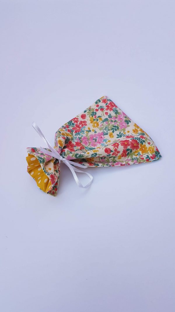 gift bags - floral dotty large