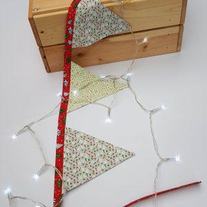 bunting - snowman and mistletoe