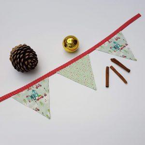 bunting - mini Christmas