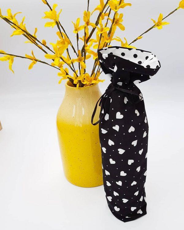 gift bag - heart bottle