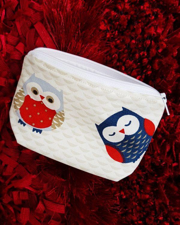 owl purse pouch