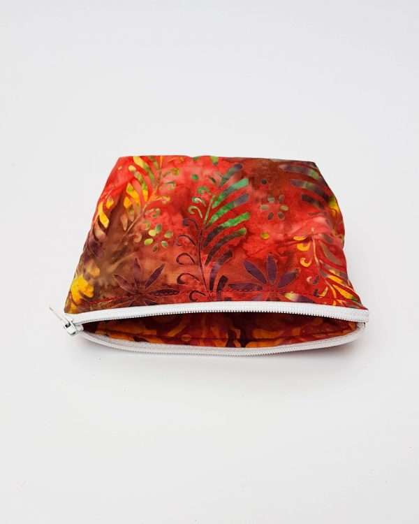 purse - red and yellow