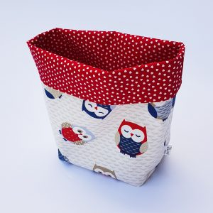 storage basket - owl