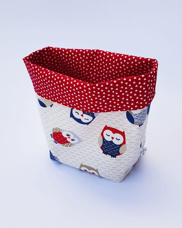 storage basket - owl